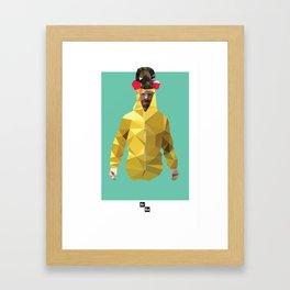 Walter White // Breaking Bad Framed Art Print