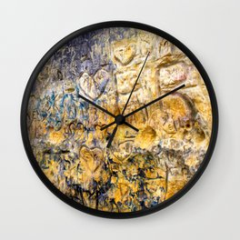 Sandstone Carving Craving Wall Clock