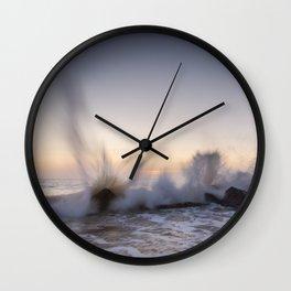 Coastal Sunrise Wall Clock