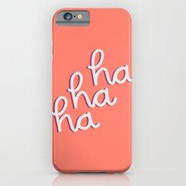 ironically festive iPhone Case
