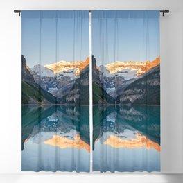 Lake Louise Sunrise Reflection Banff National Park Canada Blackout Curtain