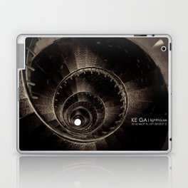Ke Ga. Spiral staircase inside Lighthouse Laptop & iPad Skin