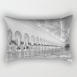 Abu Dhabi Mosque Rectangular Pillow