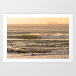 Cali Coast Surf Art Print