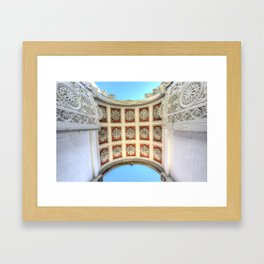 Dolmabahce Palace Istanbul Arch Framed Art Print