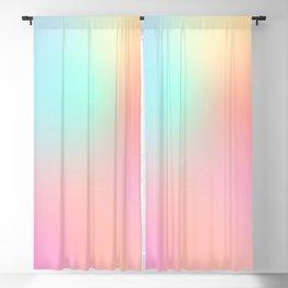 The optimistic  Rainbow Gradient Blackout Curtain