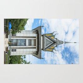 The Memorial Stupa of Choeung Ek, Cambodia Rug