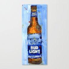Bud Light - Budwiser American Beer Canvas Print