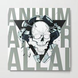 Human after all - dadtpunk tribute Metal Print