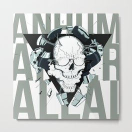 Human after all - dadtpunk tribute Metal Print