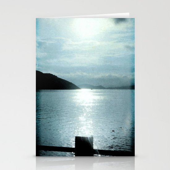 SUNSET RIVER Stationery Cards