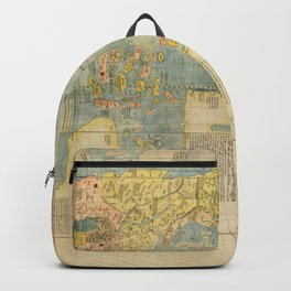 Chinese World Map 1602 Backpack