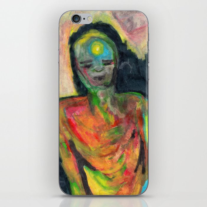 Spirit/Figure iPhone Skin
