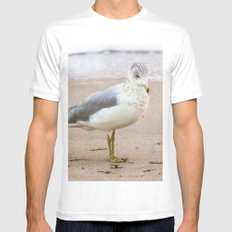 Seagull Mens Fitted Tee MEDIUM White