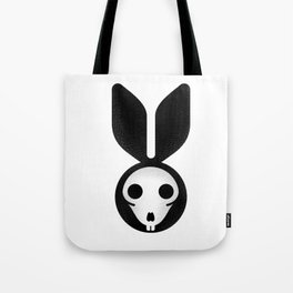 Dead bunny can't jump Tote Bag