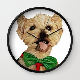 scruffy Wall Clock