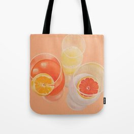 Pink Drinks Tote Bag