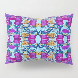 Assorted Floral Layout Under Over Pillow Sham