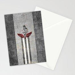 poloplayer grey Stationery Cards