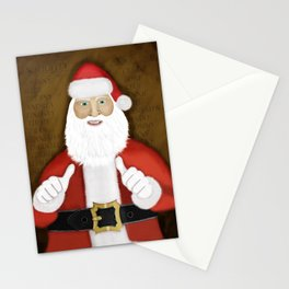 Thumbs (the Santa Claus edition) Stationery Cards