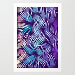 In the Icy Air of Night Art Print