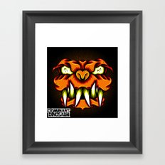 LavaDog Framed Art Print