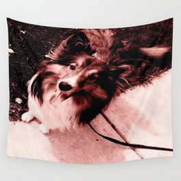 Patiently Waiting... Wall Tapestry