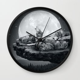 Echoes of a Lullaby Wall Clock
