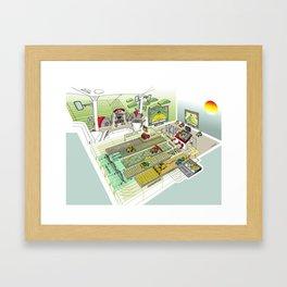 Agrarian Framed Art Print