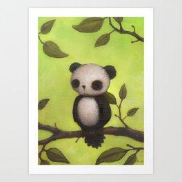 pandabird Art Print