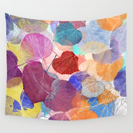 Leaf Mosaic 41 Wall Tapestry