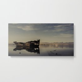 Shipwrecked 2 Metal Print