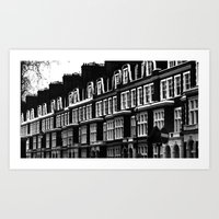 chelsea Art Prints featuring Chelsea by Sebastiano Carbone