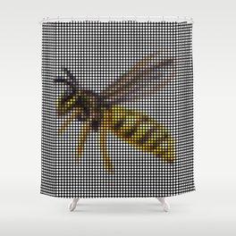 Wasp 2.0 by Lars Furtwaengler   Digital Interpretation   2013 Shower Curtain