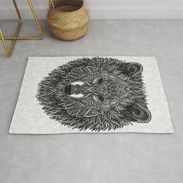 Gray Wolf Rug