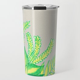 Greens and Yellows ! Travel Mug