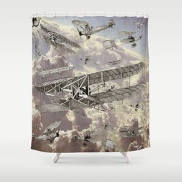 airplanes 2 Shower Curtain