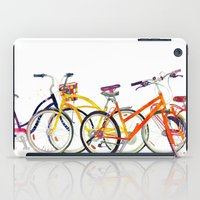 bikes iPad Cases featuring bikes by takmaj