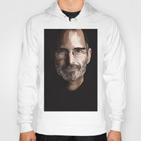steve jobs Hoodies featuring Steve Jobs by Misha Libertee