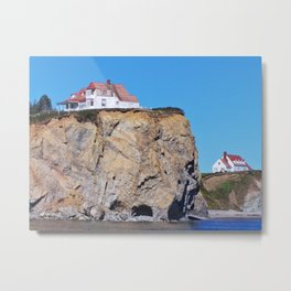 Living at the End of the World Metal Print