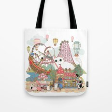 the Day of the rollercoaster Tote Bag
