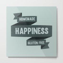 Homemade Happiness Gluten Free Metal Print