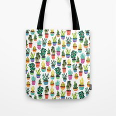 Cacti by Veronique de Jong Tote Bag