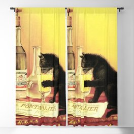 Absinthe Bourgeois Blackout Curtain