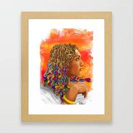 Nanners Framed Art Print