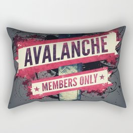 Final Fantasy VII - Avalanche Member's Only Rectangular Pillow