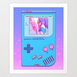 Game Soy (Chihiro and Haku) Art Print