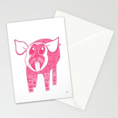 Puggy Bank Stationery Cards