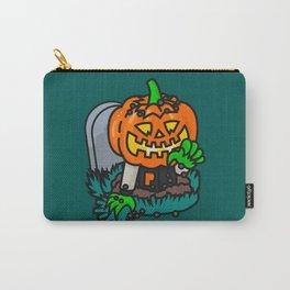 Varsity Pumpkin Grave Carry-All Pouch