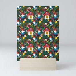 Gnome Home Mini Art Print